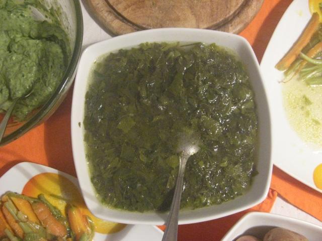 Zupa weganska z samego rdestowca - blog magiczny Marii Bucardi
