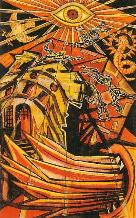 Crowley Tarot Thoth