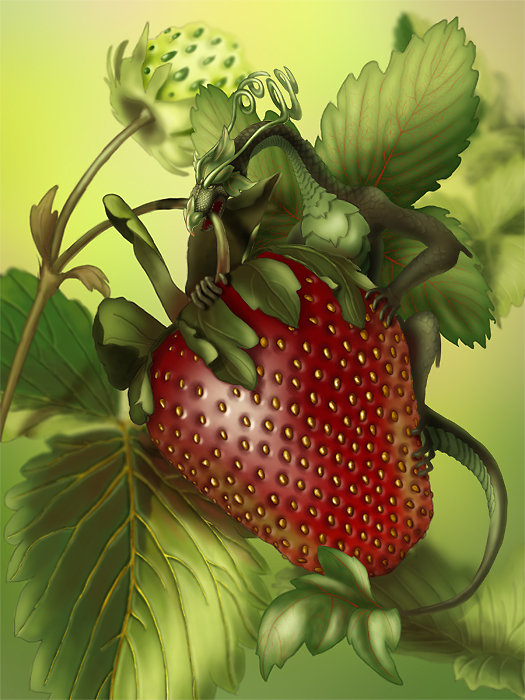 Strawberry Thief by anasty